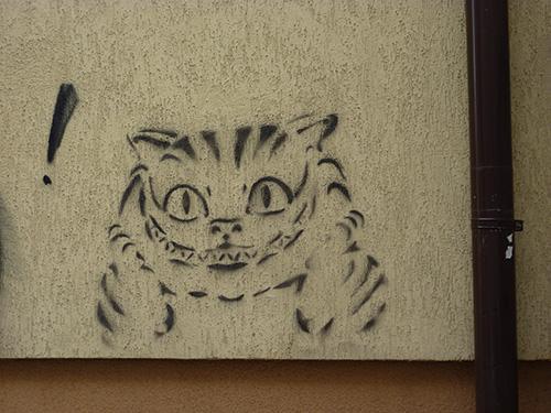street art à Cluj en Roumanie