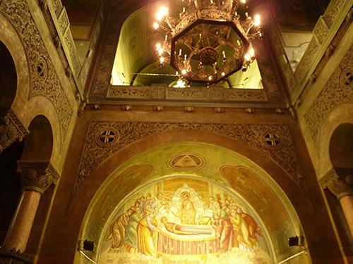 Eglise de Cluj en Roumanie