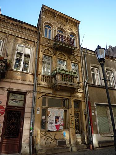 Un immeuble de caractère à Bucarest