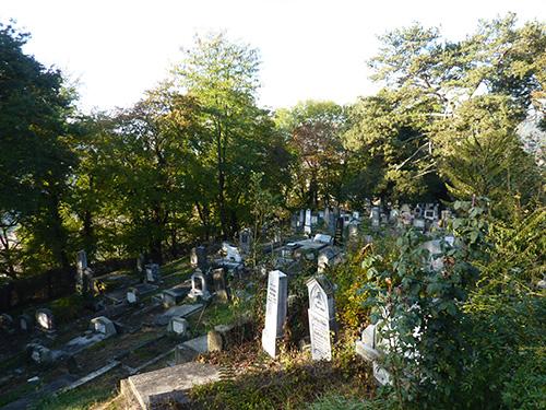 Le cimetière allemand de Sighisoara en Roumanie