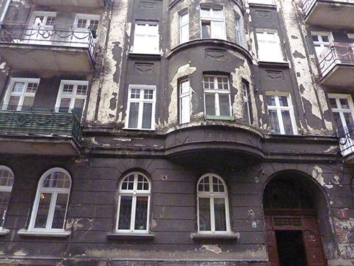vieilles façades de Kalisz
