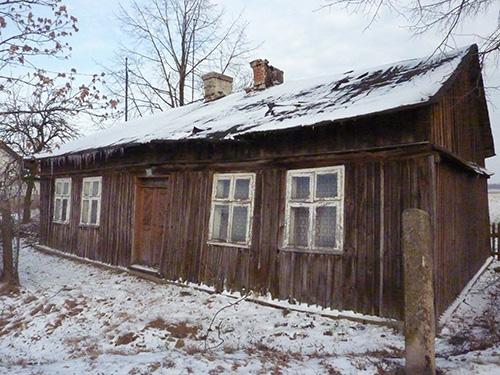 Maison en bois de Stawiszyn en Pologne