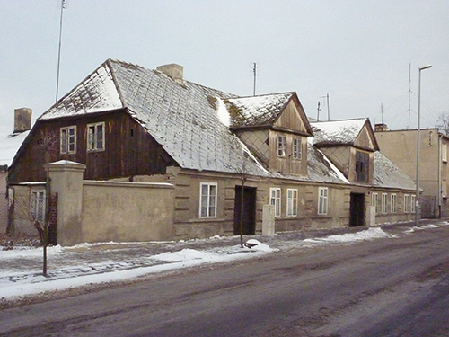 Village de Stawiszyn en Pologne