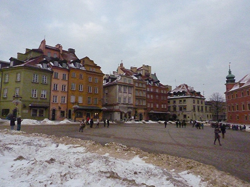 Centre historique de Varsovie