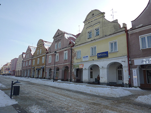 Village de Lomza en Pologne