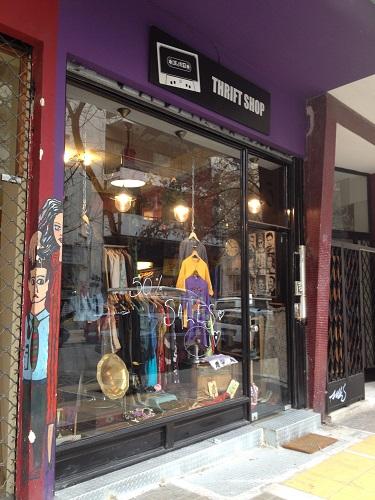boutique vinage Thrift Shop  à Athènes