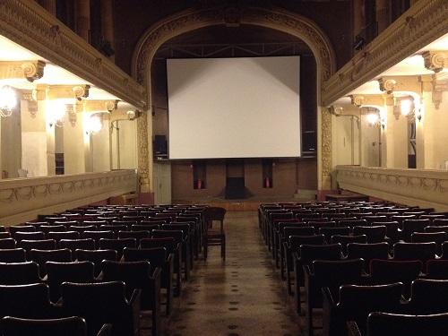 salle de cinéma de l'université d'Athènes