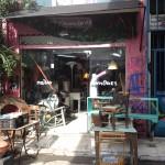 Une boutique d'antiquités à Athènes