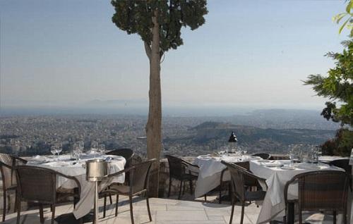 Restaurant horizontes à Athènes