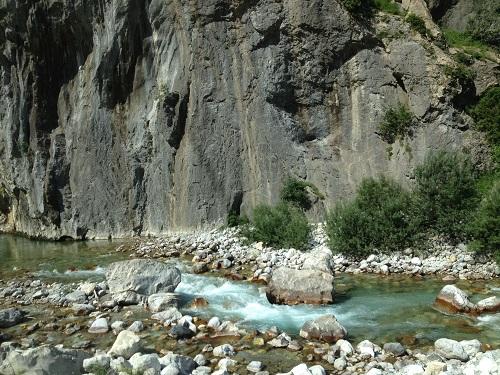 Vallée de Valbonä en Albanie
